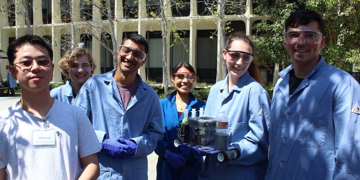 Chem-E Car student team